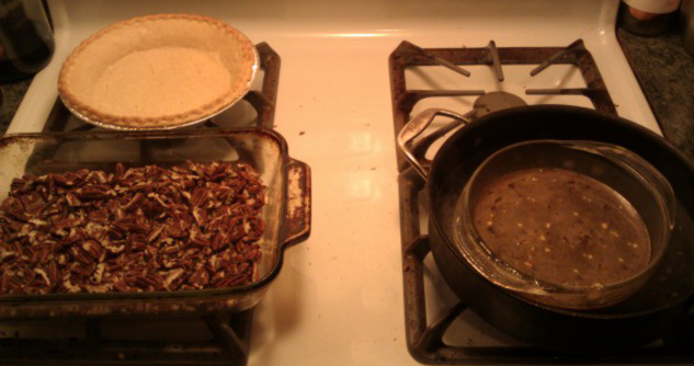 Pecan Pie Ingredients